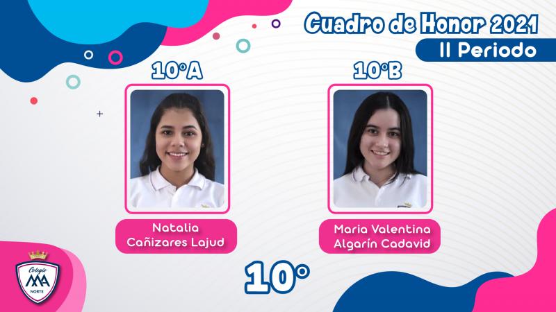 CUADRO DE HONOR 2021 - II PERIODO-12